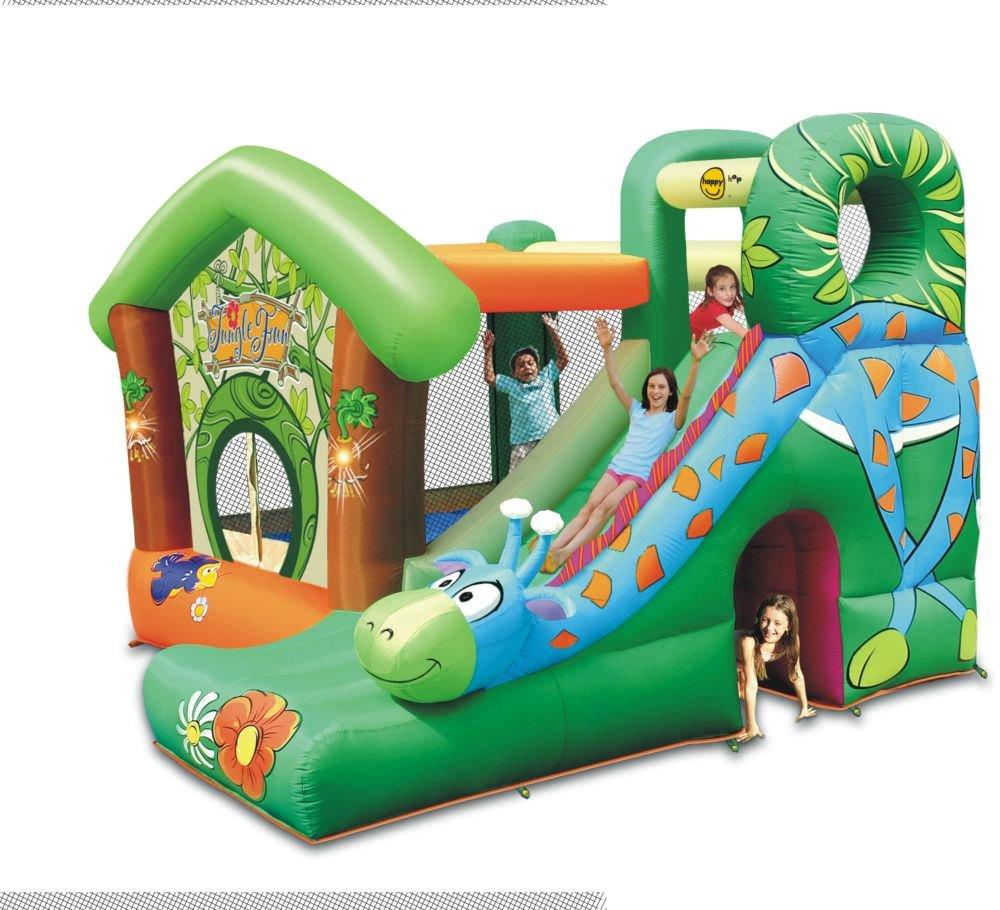 Happy Hop Hüpfburg Jungle Fun mit Riesenrutsche Art. 9139 jetzt bestellen