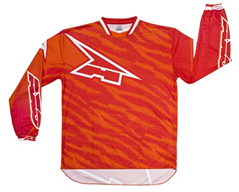 AXO MX5T0058-R00 Dyemax Jersey, Taille S, Rouge