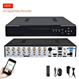 16 Channels DVR Recorder H.264 CCTV Security Surveillance System Digital Video Recorder(No hard drive included)