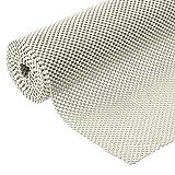 Grip Liner Non-Adhesive Shelf Liner, Anti-Slip Mat Drawer Liner 12 in. x 20 ft. (White) (Color: White)
