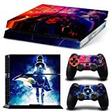 EBTY-Dreams Inc. - Sony Playstation 4 (PS4) - Tengen Toppa Gurren Lagann Anime Simon Yoko Vinyl Skin Sticker Decal Protector