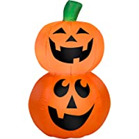 Gemmy Airblown Inflatable 3.5X2.5-ft Pumpkin Stack Halloween Decoration