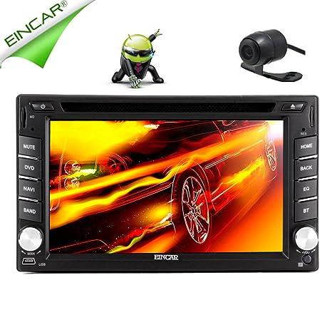 eincar Pure Android 4.215,7cm 2DIN GPS universel audio stéréo Radio Navigation GPS de voiture Dash Support écran muti-touch capacitif/SD/Bluetooth/Wifi/1080p