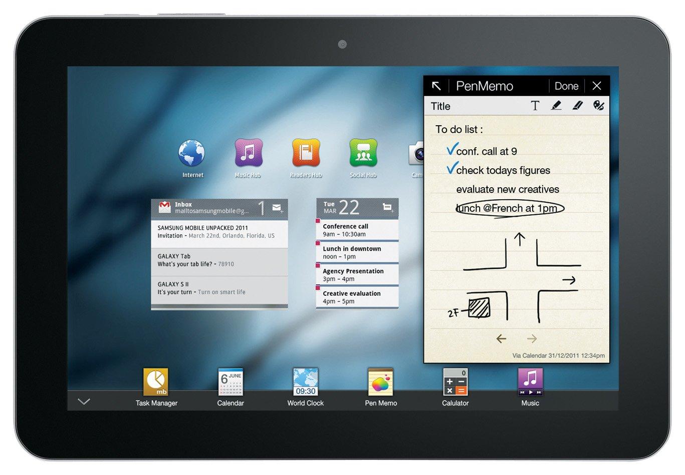 Samsung Galaxy Tab 8.9 P7300 Tablet (22,6