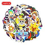 148pcs one Piece Stickers one Piece Anime Stickers (Anime 3)