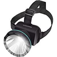 Kmashi Rechargeable LED Headlamp (Black)
