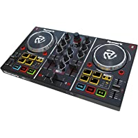 Numark Party Mix | Starter DJ Controller with Built-In Sound Card