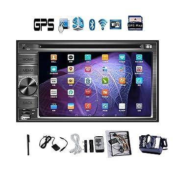 Date 2 din la radio pure Android de haute qualitšŠ GPS Navigator DVD de voiture Lecteur CD 2 din 6.2 '' capacitif stšŠršŠo multi-šŠcran tactile Autoradio au tableau de bord Lecteur Bluetooth iPod WiF