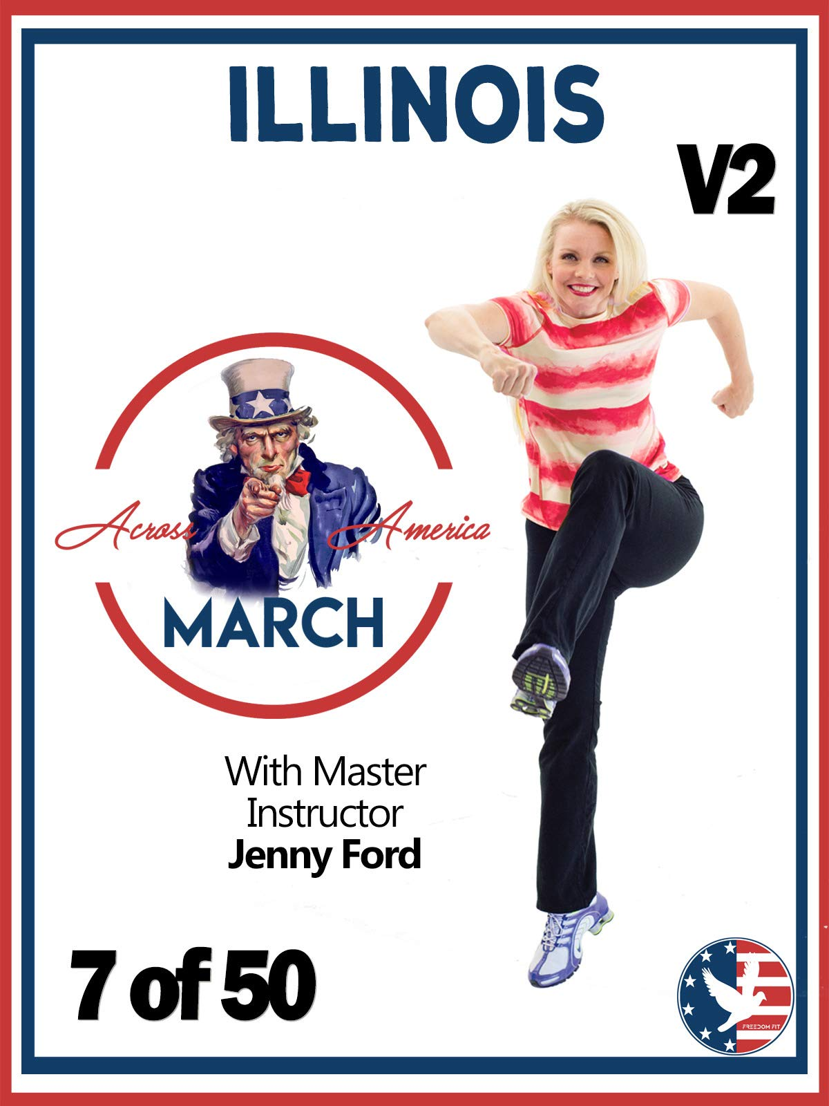 7 of 50 Illinois March Across America with Jenny Ford
