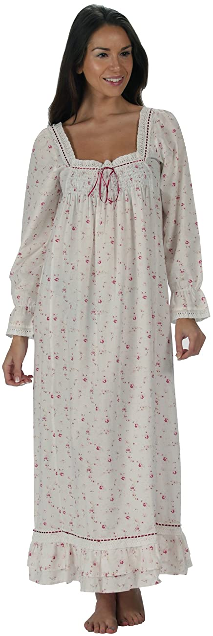 The 1 for U Martha Nightgown 100% Cotton Victorian Style - Sizes XS - 3X … 2
