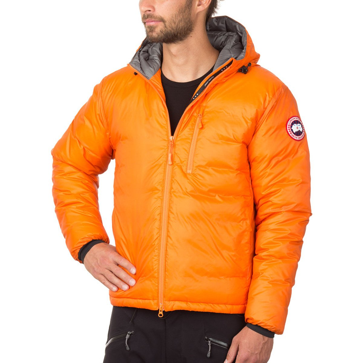 Canada Goose Men's Lodge Down Hooded Jacket hannell across canada – resources