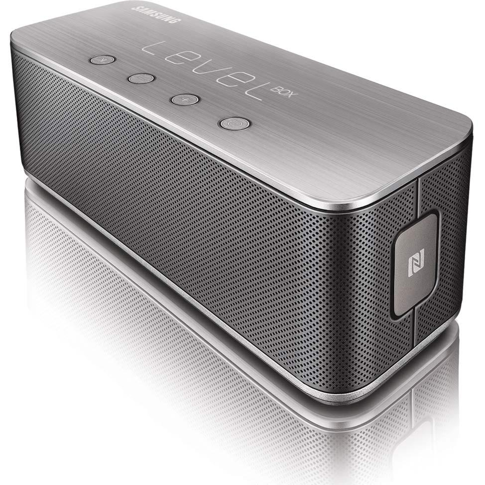 magic samsung level box bluetooth wireless mini speakers. Black Bedroom Furniture Sets. Home Design Ideas