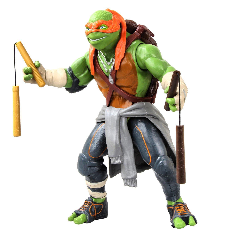 """Teenage Mutant Ninja Turtles Movie 11"""" Michelangelo Figure ..."""