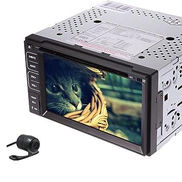 MultimšŠdia 6.2 pulgadas GAGNER GPS 8 Logo Pantalla UI tš¢ctil de coches Lecteur DVD con Moniteur de Navegaciš®n De Video estšŠreo de audio RDS Reproductor de Bluetooth MP3, micrš®fono, iPod, U