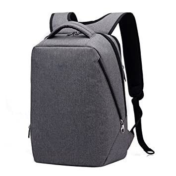 9a108627e35e Kopack Laptop Travel Bag Business backpack for 14 15.6 17 Inch Waterproof  Grey lightweight