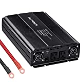 AUTOWN 2000W Power Inverter 12V DC To 110V AC Car Power Inverter, Automotive Back Up Power Supply Car Inverter With Dual AC Outlets For RV, Household Appliance, Electronic Device Charging (Color: DEALS - NEW ARRIVAL 2000W Black, Tamaño: High Capacity - 2000W, 4000W Peak power)