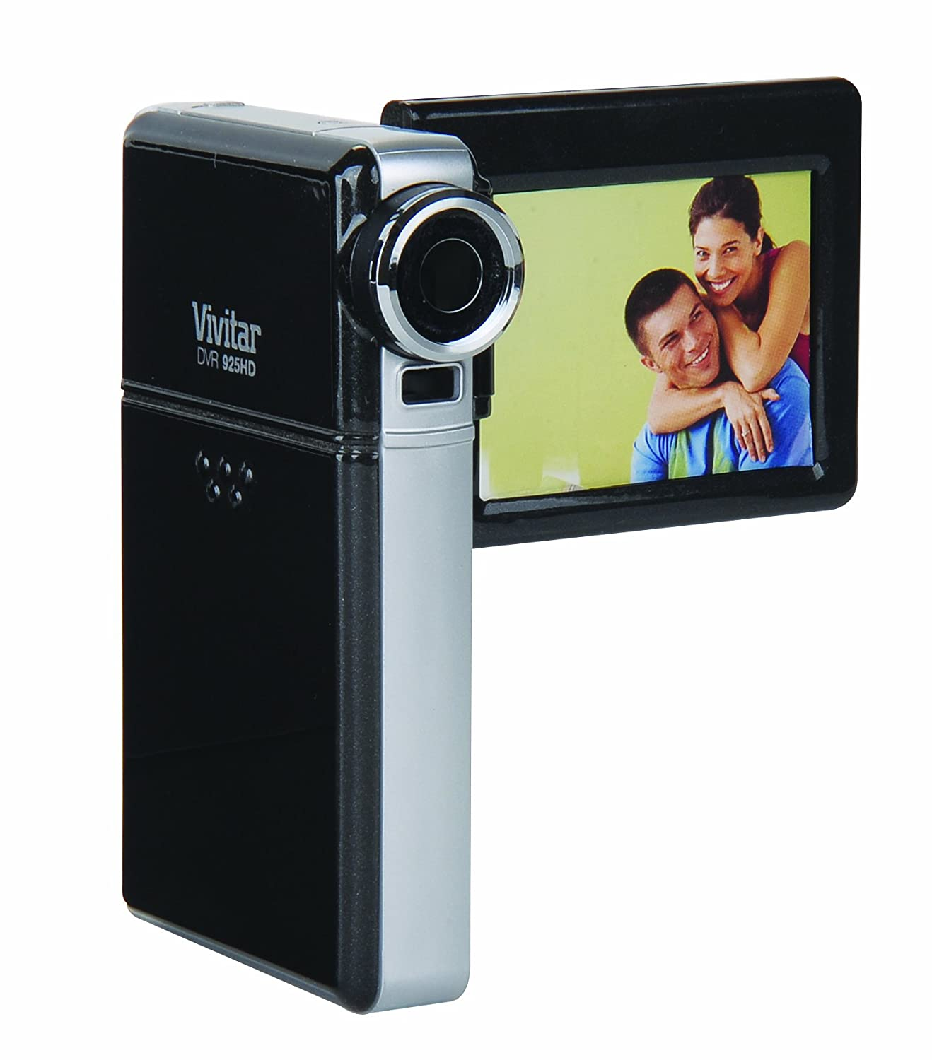 Vivitar DVR925HD-CHKIT-QVC 8.1 MP HD Digital Video Recorder with 2-Inch LCD Screen (Black)