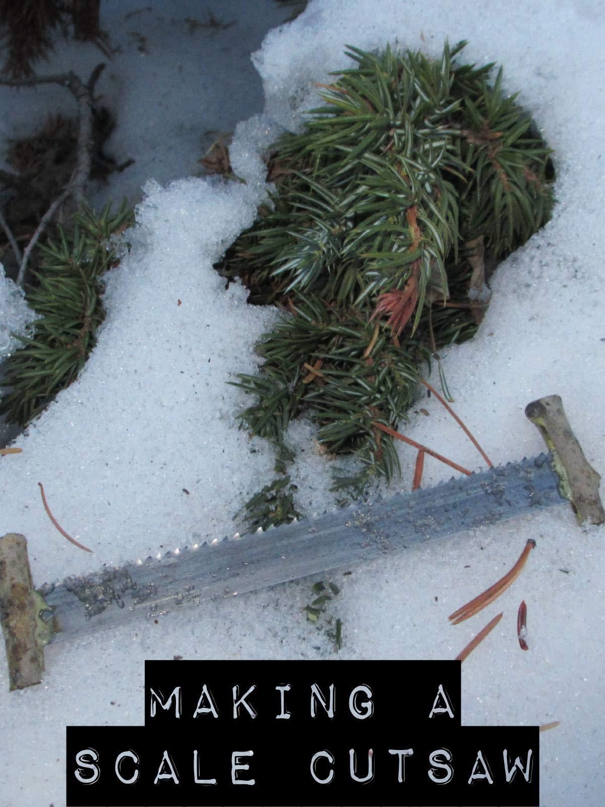 Clip: Making a Scale Cutsaw