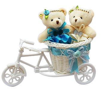 Buy AnishopTM Beautiful cute Teddybear with Beautiful Cycle Gift ...