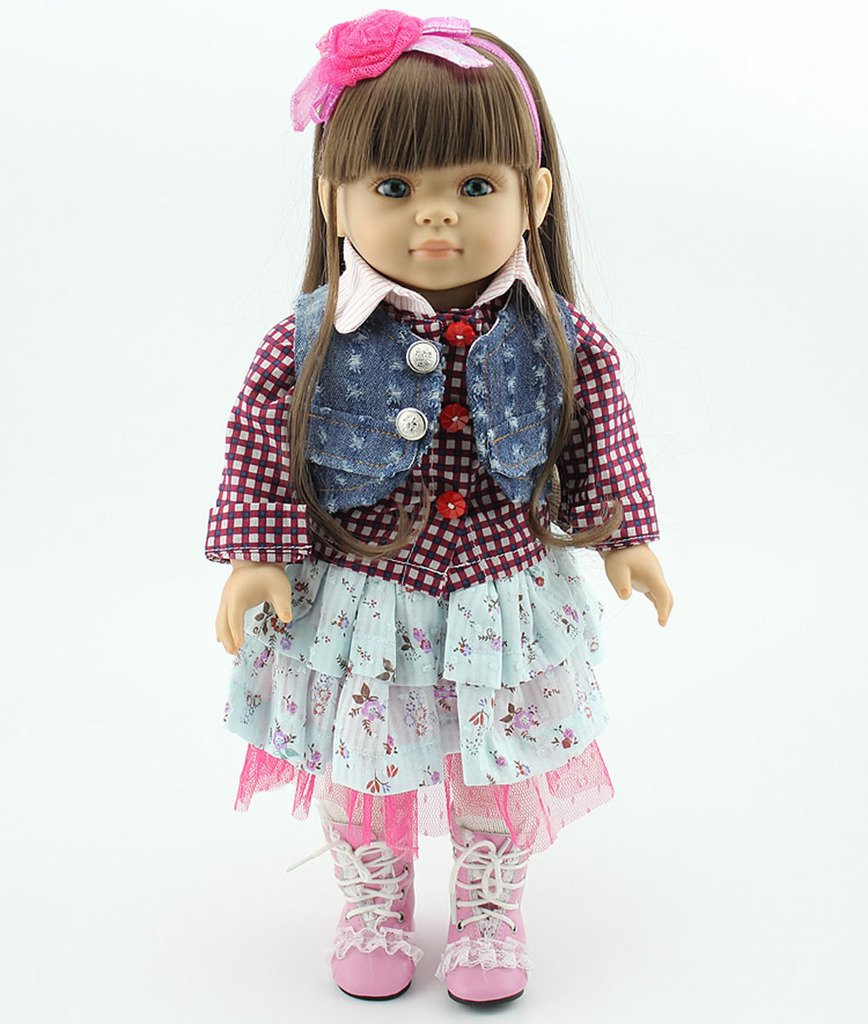 NPK Collection Das Kinderspielzeug ist aus Kunststoff und 18 Zoll 45 cm gro?. Es ist ein hochwertiges Geschenk f¨¹r sch?ne als Weihnachtsgeschenke. kaufen