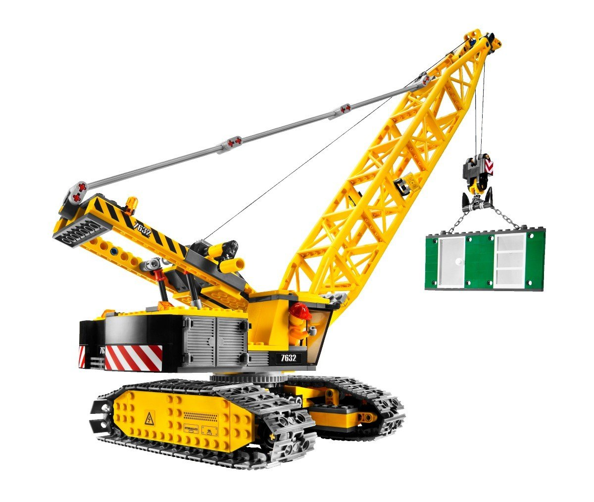 Lego 7632 city crawler crane new sealed retired for The crain