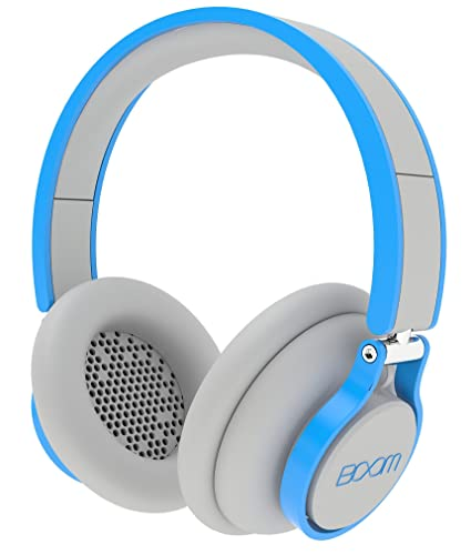 BOOM Rogue Over-Ear DJ Headphones with In-Line Controls - Grey