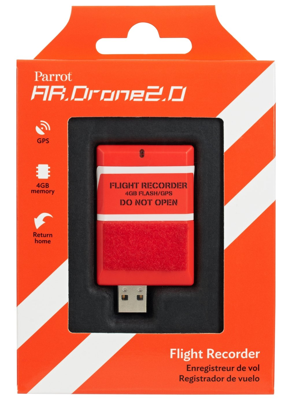 AR.Drone 2.0 - Flight Recorder (GPS Modul)