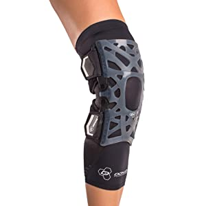 DonJoy Performance WEBTECH Knee Support Brace with Compression Undersleeve: Black, X-Large (Color: Black, Tamaño: X-Large)