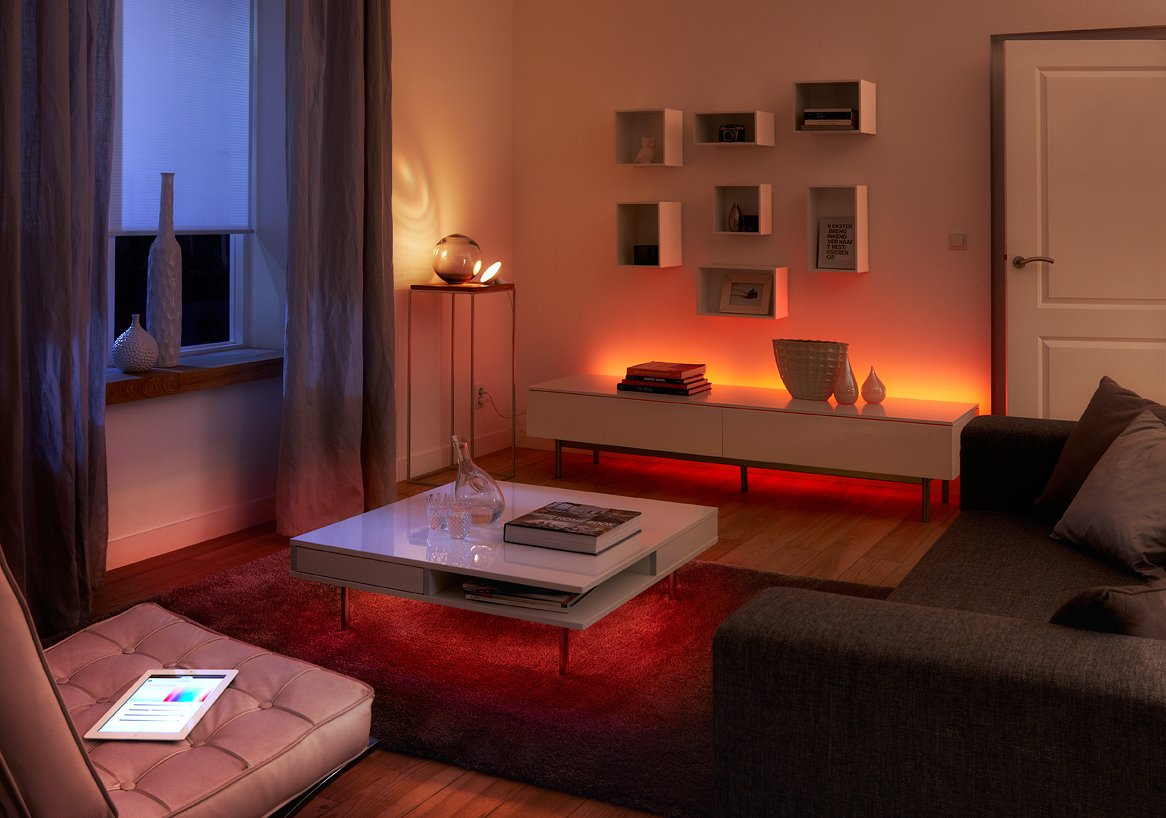 Philips Hue LightStrip Dimmable LED Smart Light (Older Model, Compatible with Amazon Alexa, Apple HomeKit, and Google Assistant)