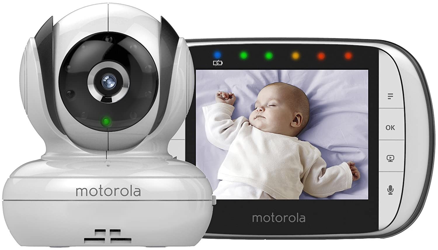 new motorola mbp36s digital video baby temperature monitor wireless 200m rang. Black Bedroom Furniture Sets. Home Design Ideas