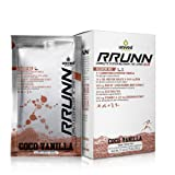 Unived RRUNN Post Recovery Sports Drink Mix, Complete System Recovery, 4:1 Carb:Protein with Vegan Pea Protein, Curcumin, KSM-66 Ashwagandha, Coco Vanilla Flavor, Box of 6 Packets (0.75lbs, 341g)