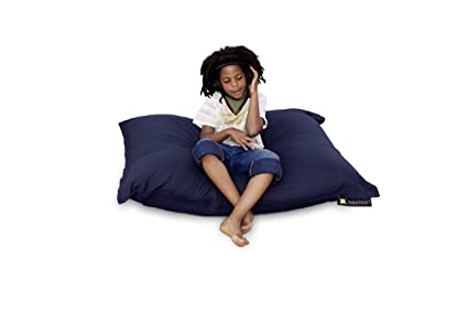 Smoothy Sitzsack Junior Cotton Indogo Blau
