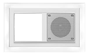 PEHA MP3 AudioPoint NovaDesign LED Leuchtrahmen, 2fach, weißes Licht, Rahmen Reinweiß  BaumarktÜberprüfung und Beschreibung