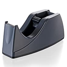 Officemate Recycled Deluxe Heavy Duty Tape Dispenser, Black (96664)