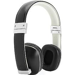 Polk Audio AM4119-A On-Ear 3.5mm Wired Headphones (Black/Silver)