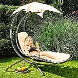 g rtner p tschke schwingliege wolke 7 inkl sonnendach und polster g nstig. Black Bedroom Furniture Sets. Home Design Ideas