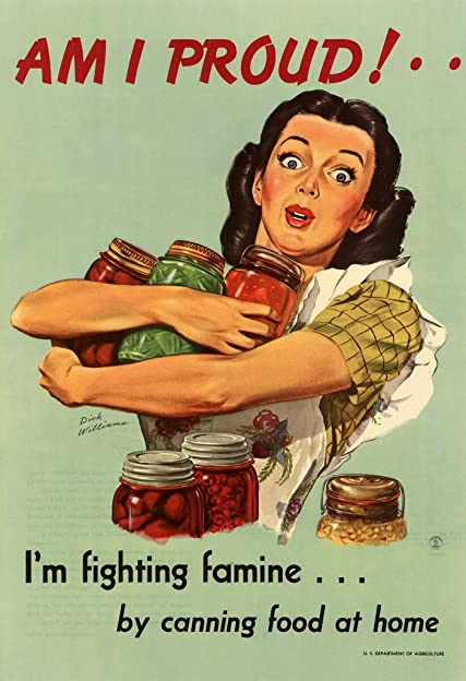 Fighting Famine By Canning Food poster