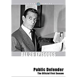 Public Defender: The Official First Season - ClassicFlix Silver Series