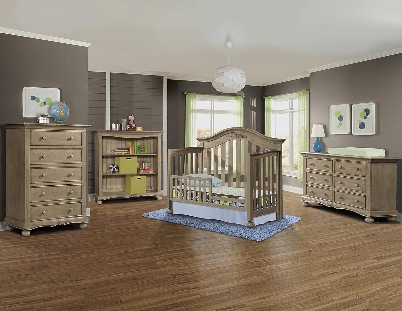 Westwood Design Meadowdale 4-in-1 Convertible Crib, Vintage 3
