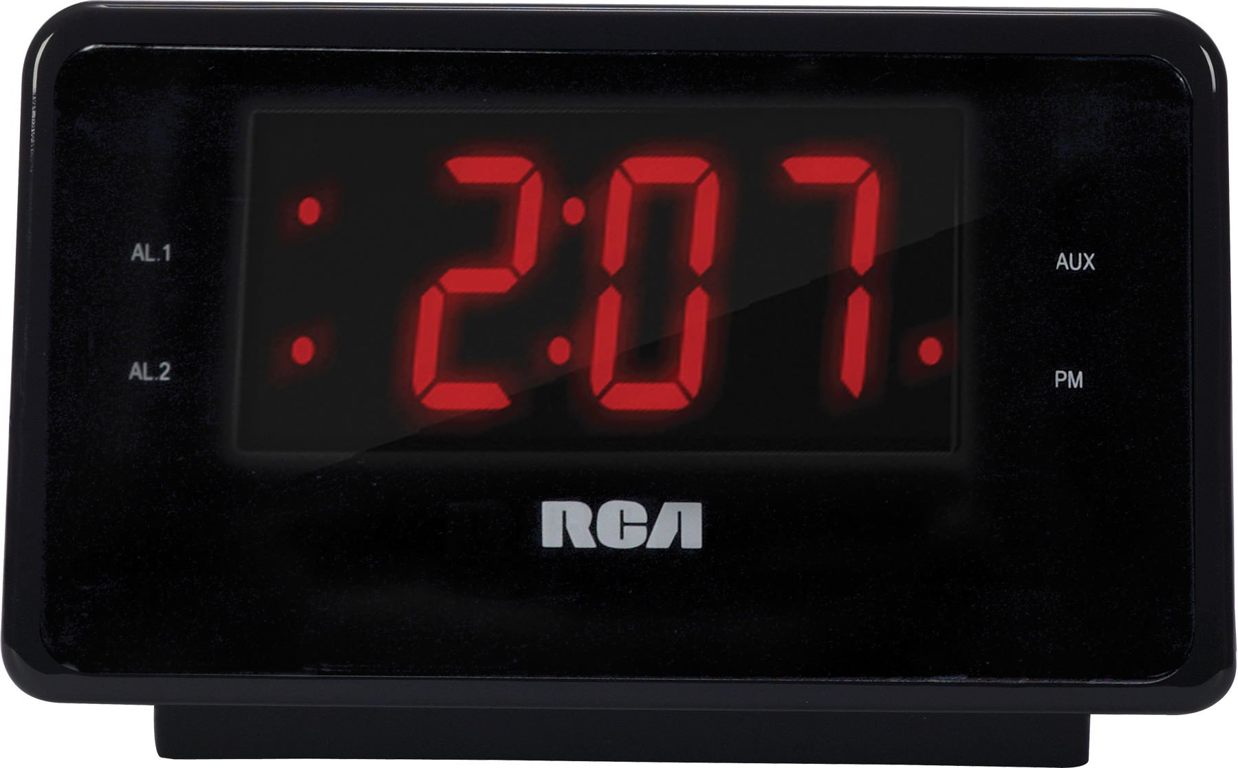 rca dual alarm clock ipod charging station with digital fm radio tuner large 44476083709 ebay. Black Bedroom Furniture Sets. Home Design Ideas