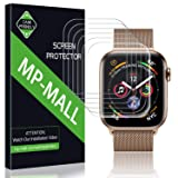 MP-MALL Compatible for [6-Pack] Screen Protector Apple Watch 44mm / 42mm (Series 4/3/2/1 Compatible), Anti-Bubble Liquid Skin Screen Protector Flexible Film, Lifetime Replacement Warranty