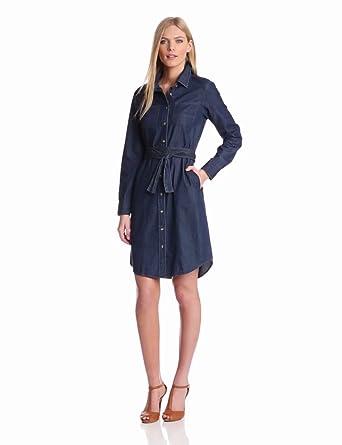 Pendleton Women's Wayward Dress, Denim Shirting, X-Large