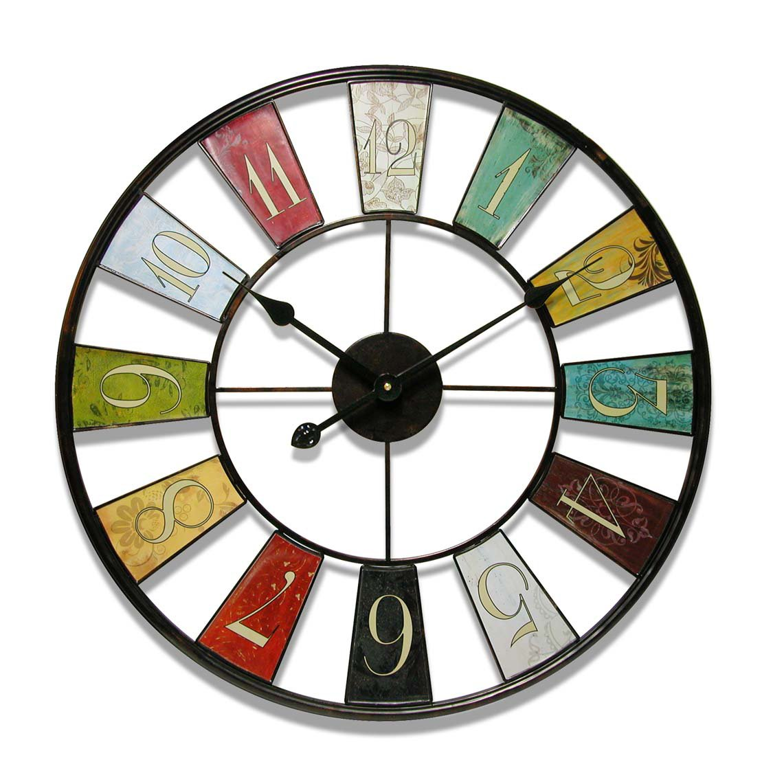 9 large decorative wall clocks to check time in style