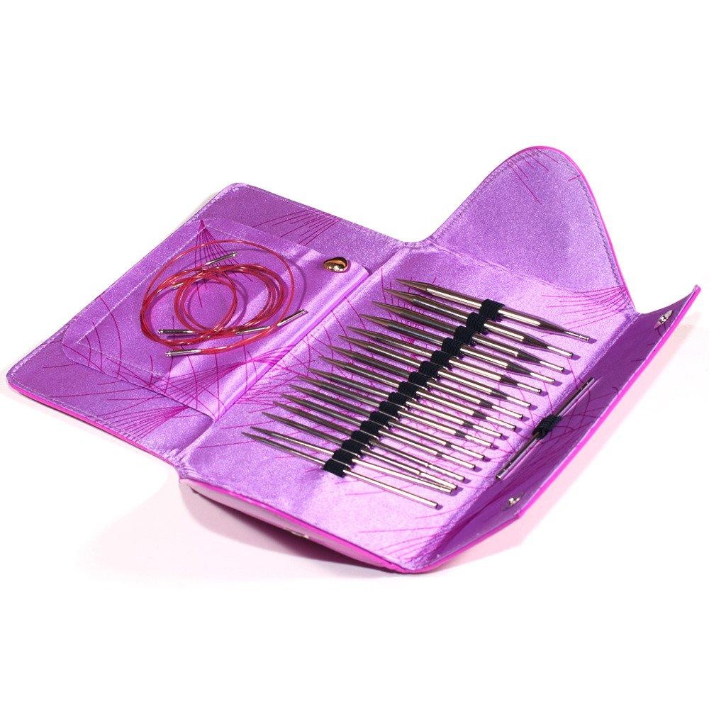 Addi 7607 Click Nadelspitzen Metall Lace Long Tips Set    Kundenbewertung und Beschreibung