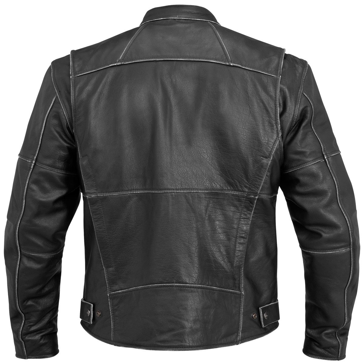 River Road Rambler Vintage Mens Black Leather Jacket 1
