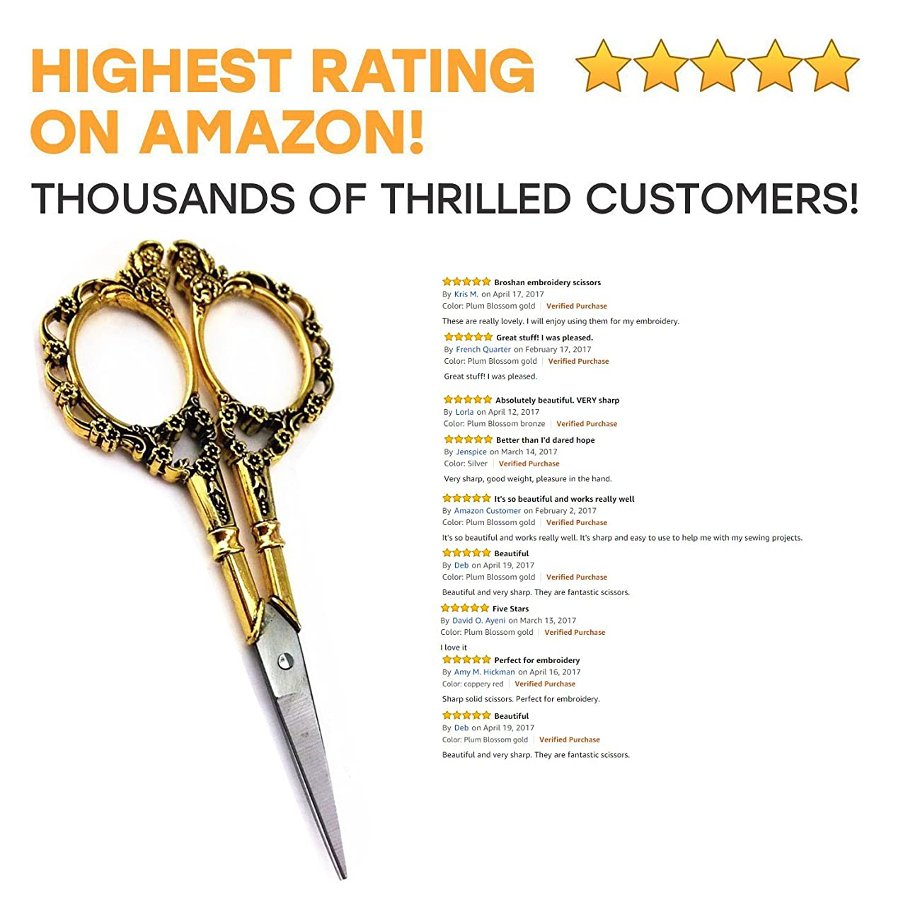European Style Sewing Scissors 4.53