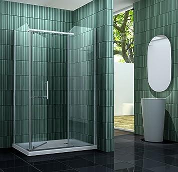 2 cabine de douche enco enco 120 x 90 cm sans sans bac bricolage m59 - Cabine douche monsieur bricolage ...