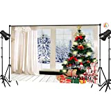 LB 9x6ft Christmas Gift Vinyl Photography Backdrop Customized Photo Background Studio Prop DB189 (Color: color 1)