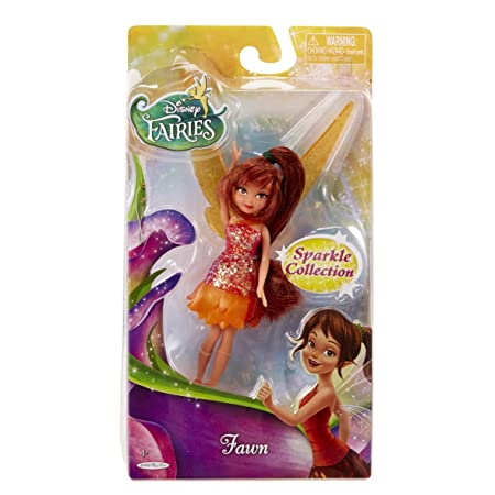Disney Fairies - 4,5 pouces étincelle collection poupée - Faun