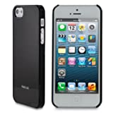 rooCASE Ultra Slim Gloss (Black) Shell Case for Apple iPhone 5 (Newest iPhone Sept 2012)